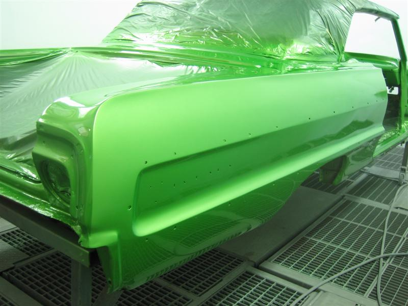 Lime Green Candy Paint